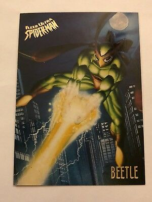 Spider-Man Fleer Ultra 1995 Marvel Card #4 Beetle