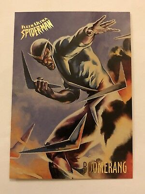 Spider-Man Fleer Ultra 1995 Marvel Card #8 Boomerang