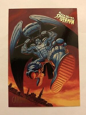 Spider-Man Fleer Ultra 1995 Marvel Card #11 Cardiac