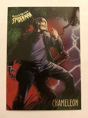 Spider-Man Fleer Ultra 1995 Marvel Card #15 Chameleon