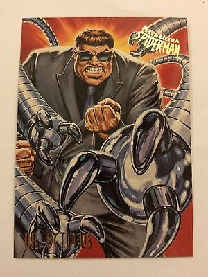 Spider-Man Fleer Ultra 1995 Marvel Card #19 Dr. Octopus
