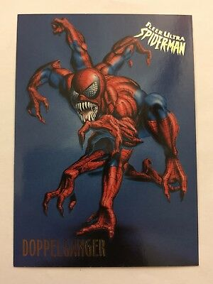 Spider-Man Fleer Ultra 1995 Marvel Card #20 Doppelgänger