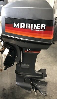 40Hp Mariner / Mercury Outboard Motor Good  Condition (freight Available )