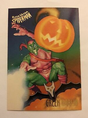 Spider-Man Fleer Ultra 1995 Marvel Card #23 Green Goblin