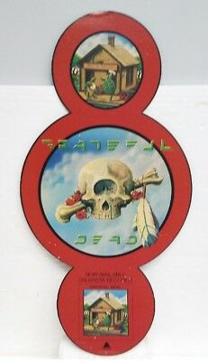 VTG Grateful Dead Terrapin Station Arista Records promo hanging store display
