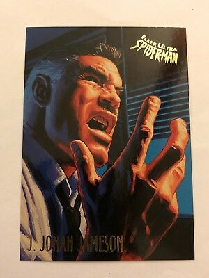 Spider-Man Fleer Ultra 1995 Marvel Card #29 J. Jonah Jameson