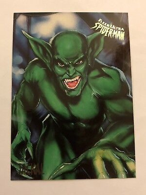 Spider-Man Fleer Ultra 1995 Marvel Card #30 Jackal