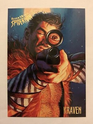 Spider-Man Fleer Ultra 1995 Marvel Card #34 Kraven