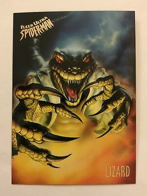 Spider-Man Fleer Ultra 1995 Marvel Card #35 Lizard