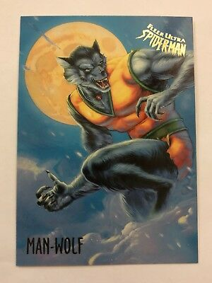 Spider-Man Fleer Ultra 1995 Marvel Card #36 Man-Wolf