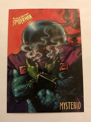 Spider-Man Fleer Ultra 1995 Marvel Card #39 Mysterio