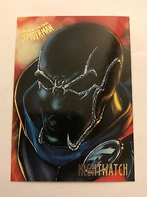 Spider-Man Fleer Ultra 1995 Marvel Card #40 Nightwatch
