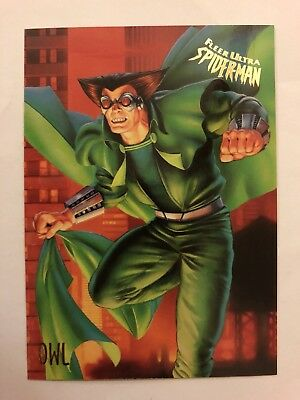 Spider-Man Fleer Ultra 1995 Marvel Card #42 Owl