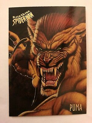 Spider-Man Fleer Ultra 1995 Marvel Card #44 Puma
