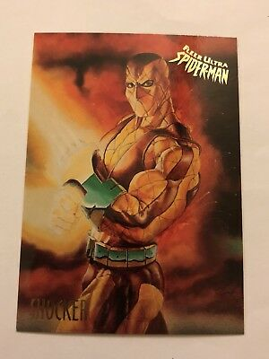 Spider-Man Fleer Ultra 1995 Marvel Card #50 Shocker