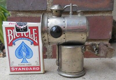 Antique Carbide / Acetylene Bicycle Lamp THE SOLITAIRE