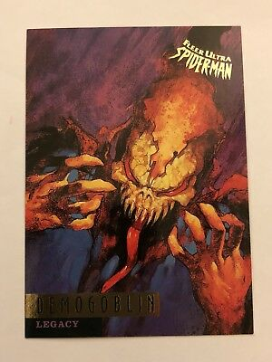 Spider-Man Fleer Ultra 1995 Marvel Card #75 Demogoblin