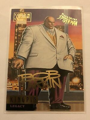 Spider-Man Fleer Ultra 1995 Marvel Card #76 Kingpin