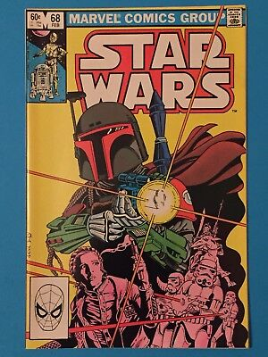 Star Wars (1977 series) #68 in NM-/VF+ condition. Marvel comics