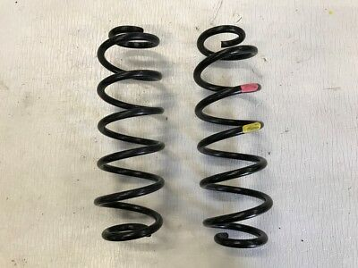 2016-2017 Toyota Prius Rear Left And Right Coil Spring Set Oem 16-17