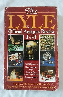 The Lyle: Official Antiques Review, 1991 - by Anthony Curtis (1990) PB