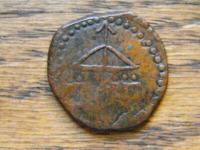 """MEX.Indep; 181.., 2 Reales """"Gral. Morelos-Oaxaca """"_ Eight dots_ very Scarce !!"""