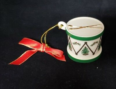 Great Find!  Spode Porcelain Drum Handcrafted Ornament