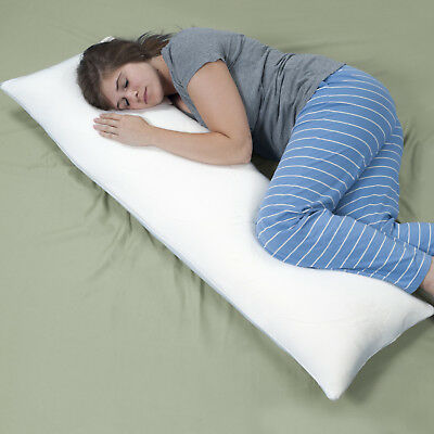 Memory Foam Body Pillow, Bed Pillows for Comfort and Support by Lavish Home