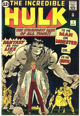 Hulk 1 Custom Made Cover with 1964 Reprint INCEDIBLE HULK