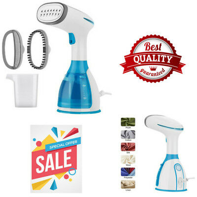 Garment Portable Steamer for Clothes Handheld Removable 280ml Water Tank NEW USA