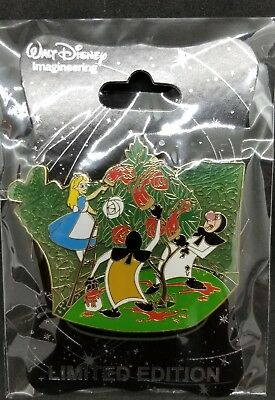 Disney WDI D23 Alice In Wonderland 60th Anniversary Playing Cards Rose LE Pin