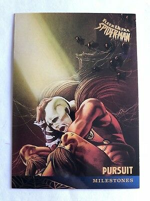 Spider-Man Fleer Ultra 1995 Marvel Card #92 Pursuit