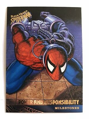 Spider-Man Fleer Ultra 1995 Marvel Card #93