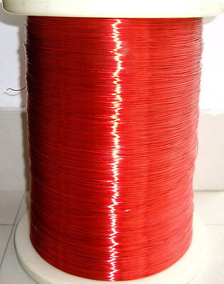 polyurethane Enameled Copper Wire Magnet Wire 2UEW/130 0.38mm red #A60E LW