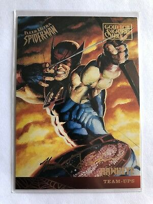 Spider-Man Fleer Ultra 1995 Team Ups Marvel Card #119
