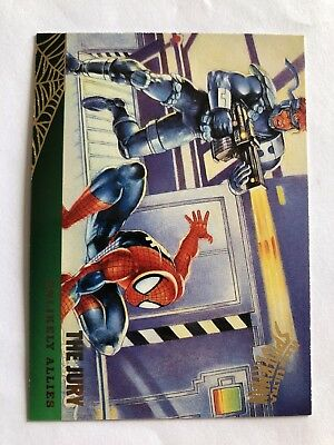 Spider-Man Fleer Ultra 1995 Marvel Card #130