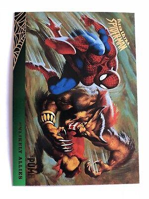 Spider-Man Fleer Ultra 1995 Marvel Card #133