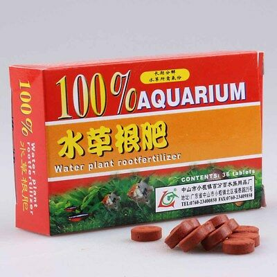 12x Water Plant Root Fertilizer Water Grass Aquarium Fish Tank Aquatic Cylinder