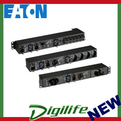 EATON Evolution HotSwap Maintenance Bypass, 16A, IEC MBP3KI