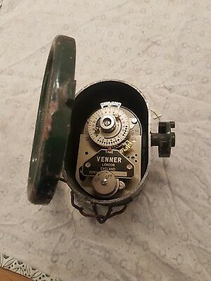 Vintage Venner Time Switch steampunk vintage industrial display heavy
