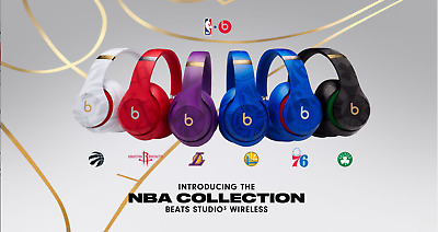 Beats STUDIO3 Wireless Over-Ear Headphones (Skyline + NBA Collection) GRADE A