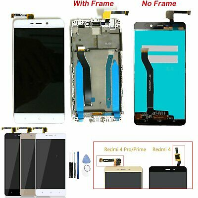 LCD Display Digitizer w/n Frame Touch Screen For XIAOMI HONGMI REDMI4 Pro Prime
