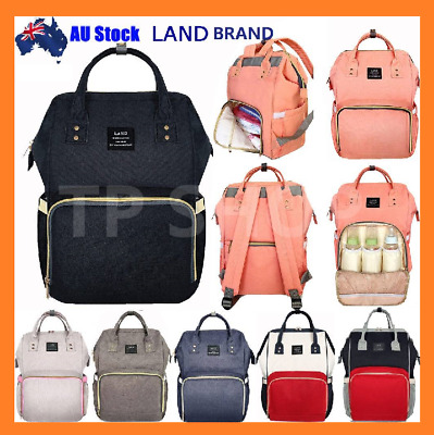 2018 GENUINE LAND Multifunctional Baby Diaper Backpack Changing Bag Nappy Mummy