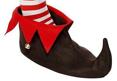(Elf Boots Brown) - ONE BFD ELF BOOTS ELF SHOES ELF HAT OR ELF TIGHTS