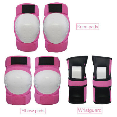 NEW 6pcs/set Protective Skates Set Knee pads Elbow Wrist Protector Protection HC