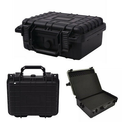 Hard Carry Box Protective Equipment Case Camera Bag with Removable Foam 2 Sizes