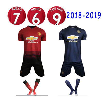 2018-2019 Football Kits Training Suits Soccer Jersey For Adults Kids 3-14YRS