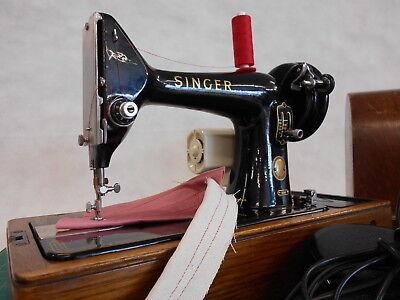 Stunning Heavy Duty Singer 99k Electric Domestic Sewing Machine