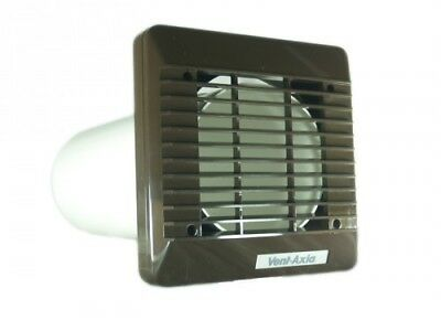 Vent Axia 140903A 150mm Wall Kit (Brown) Suits Any 150mm Extractor Fan
