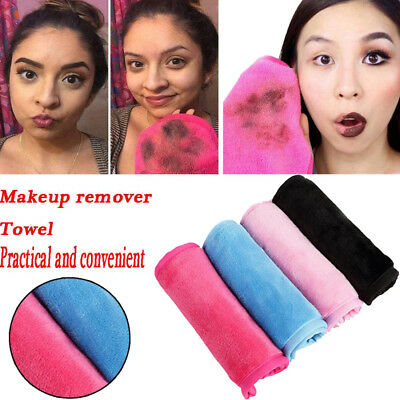 Unisex Microfiber Cloth Pads Remover Towel Face Cleansing Makeup